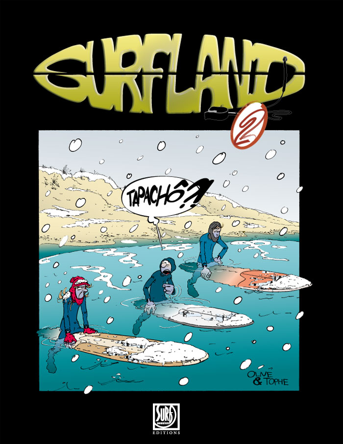 couverture Surfland Tome 2