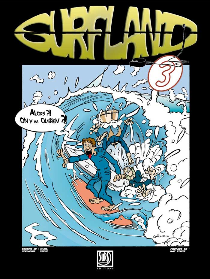 couverture Surfland Tome 3